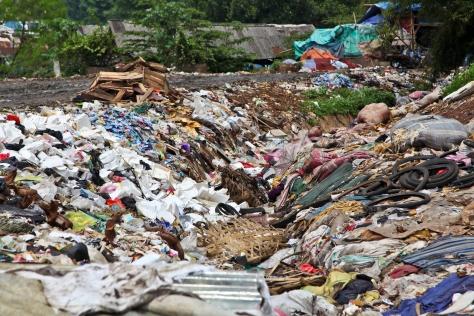 Rubbish at Bantar Gebang