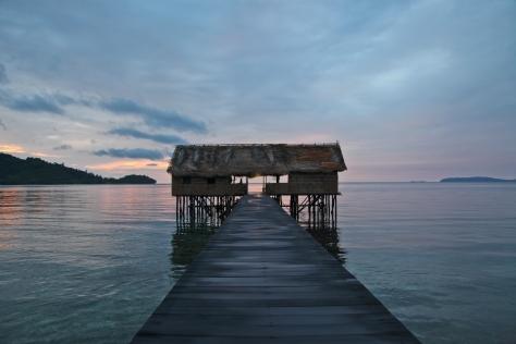 The dive shop at Papua Paradise, Raja Ampat, Indonesia
