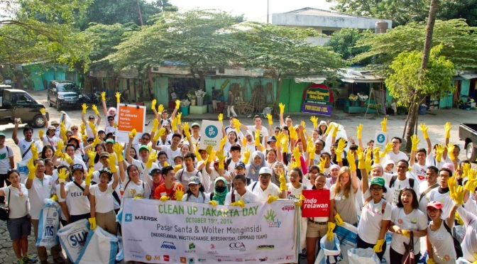 Clean Up Jakarta Day 2015 Official Video