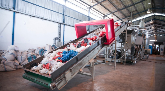 Producing Durable Pallets from Recycled Plastic Waste