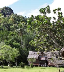 The dive shop at Cubadak Paradiso Village