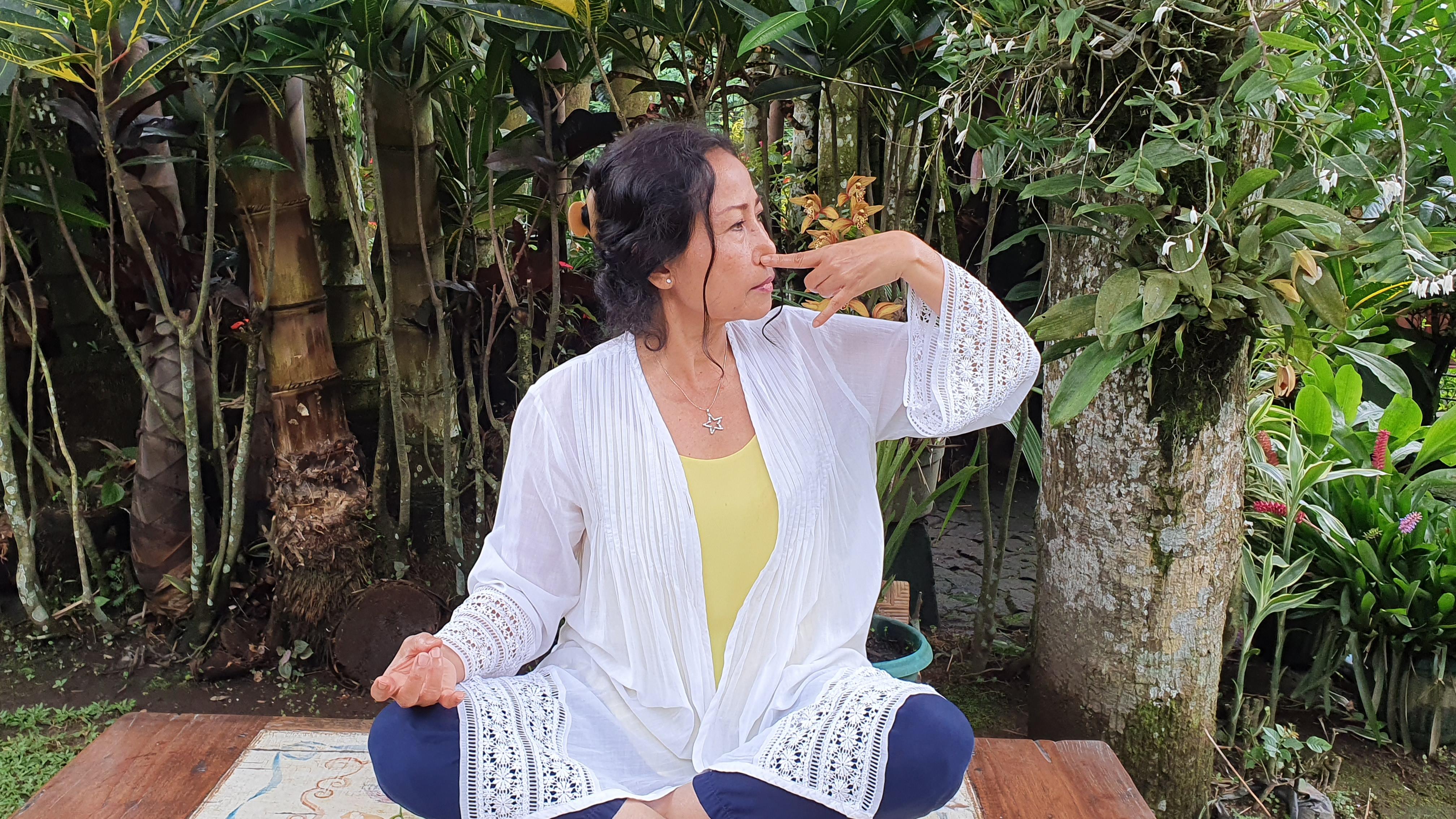 Nodhi sadhana breathing ©Angela Jelita